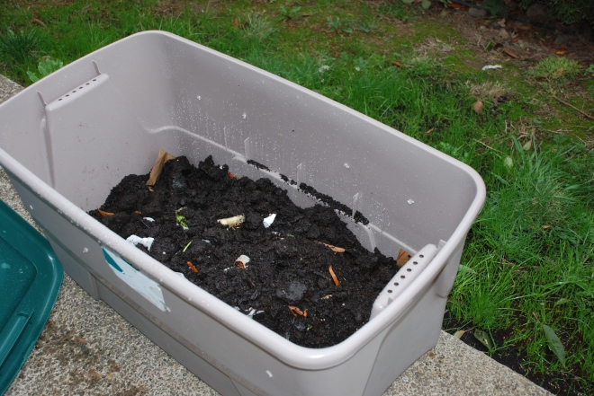 Plastic Tub Compost Bin | 45 DIY Compost Bins To Make For Your Homestead