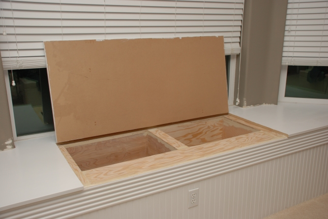 storage bench plan