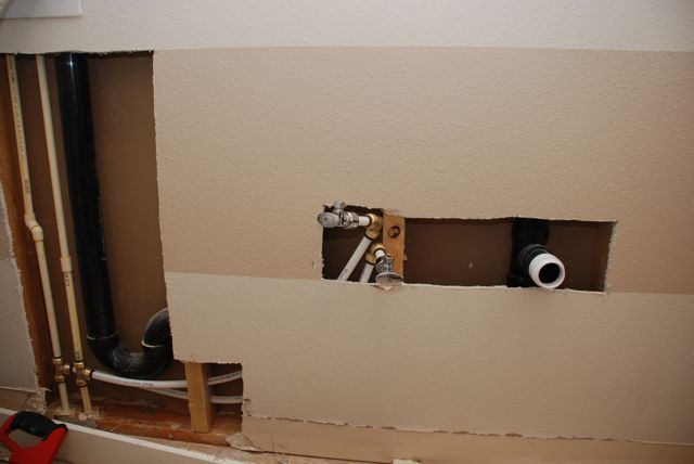 Pic of the whole plumbing job.