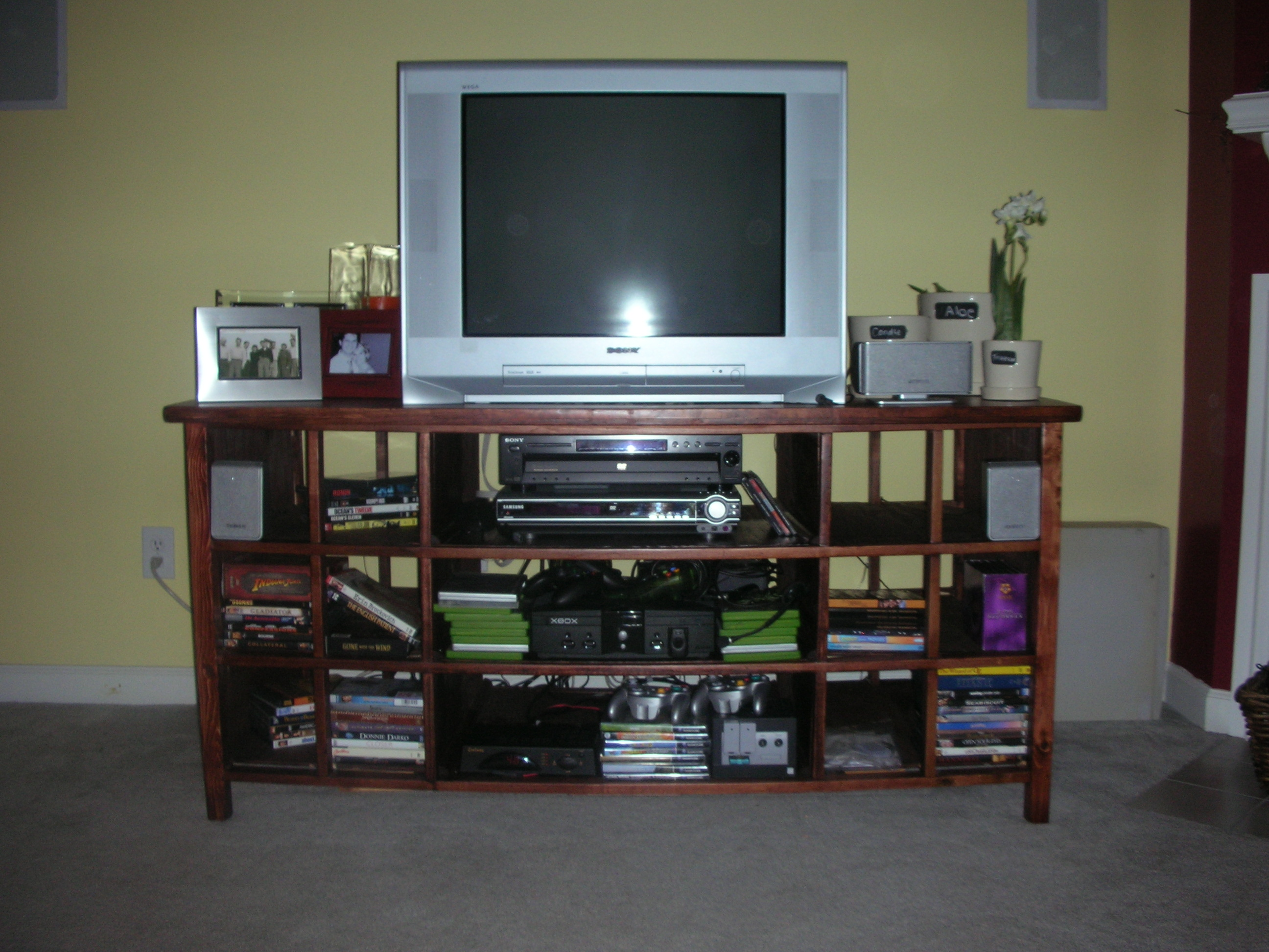 plans to build your own tv stand